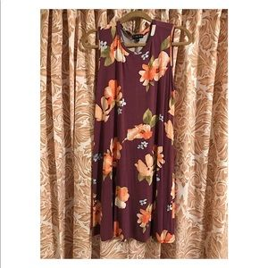 Timing Casual Floral Dress